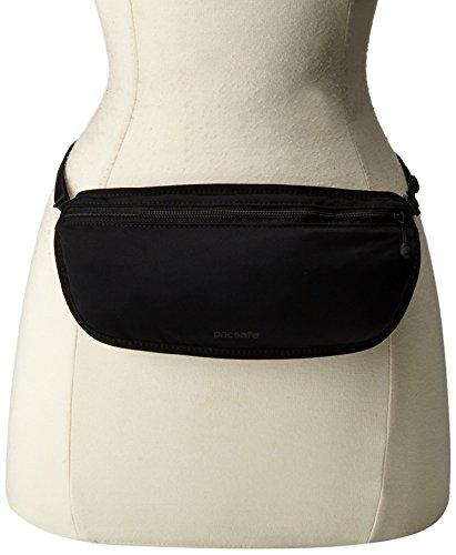 Pacsafe CoverSafe S100Diebstahlschutz Secret Bund Tasche, schwarz (schwarz) - 10129 schwarz