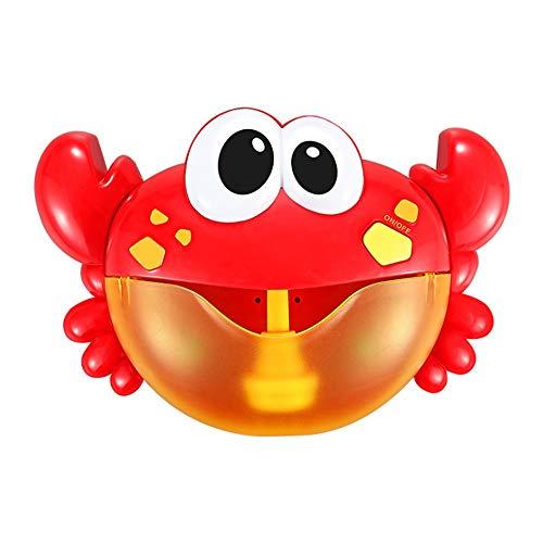 Zpzzy Krabben Spucken Blase Maschine Weht Säuglingsbadewanne Kinder Baden Baby Bad Badespielzeug Spielen Wasser - Das Kommerzielle Spiel