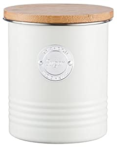 Typhoon Living Airtight Sugar Storage Canister with Bamboo Lid, 1 Litre