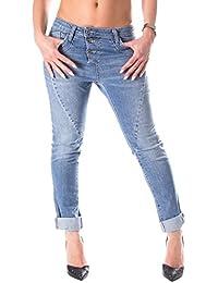 ae29ba5d990a Please - P78t78 Jeans Pantaloni Baggy da Donna