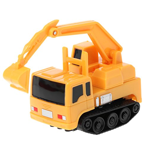 Dabixx Sensing Car Spielzeug, Mini Induktiver Bagger Magic Toy Truck Auto Mini Pen Induktives elektrisches Spielzeug