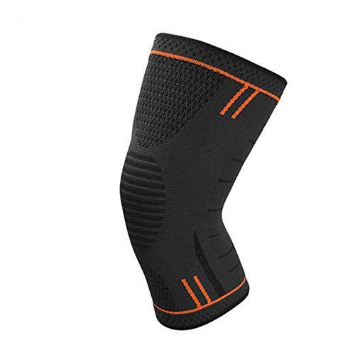 AYEMOY Elastische Kompression Kniebandage Sleeve für Sport - wirkt schmerzlindernd bei Gelenkkrankheiten wie Arthrose, Schützt beim Laufen und Joggen,Kniestütze für Damen und Herren