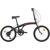 Bicicleta plegable C-Fold de acero 20 pulgadas con cambio SHIMANO 6 V ...