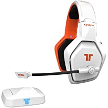 Tritton Katana HD 7.1 - Auriculares Wireless para Consolas de juego, PC, dispositivos Smart y fuentes de sonido HDMI - Blanco