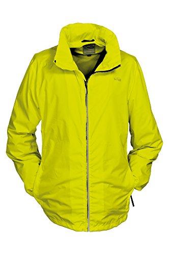 BRIGG veste homme 'light-packable'en différentes couleurs-coupe-vent-imperméable-respirant-f/s 2015 2003 (1001) Jaune - Neon yellow(416)