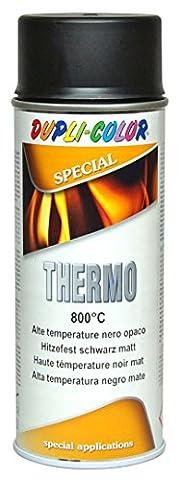 Dupli Color 401052Peinture thermique en spray, résistante à la chaleur jusqu'à 800°C, 400ml, noir matopaque
