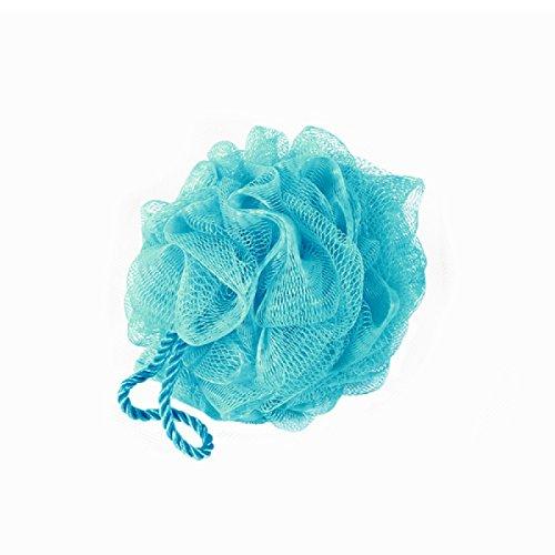 Carpemodo Badeschwamm Duschschwamm Einseifschwamm aus Kunststoff, Farbe: Blau, 1 Stück -