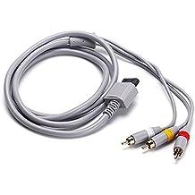 WINGONEER cable compuesto AV compatible con Nintendo Wii