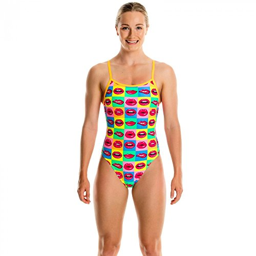 Hot One Piece Swimsuit (Funkita Single Strap One Piece Swimsuit Girls Hot Lips Größe DE 152 | US 26 2017 Schwimmanzug)