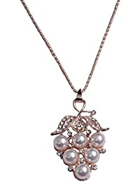 Pendant Necklace For Girls Fashion Party Wear Pendant Set / Pendant Set For Girls And Women: Best Diwali Gift...