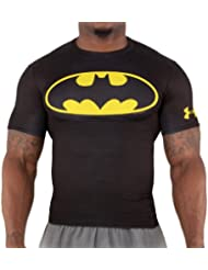Under Armour Alter Ego Compression Short Sleeve Shirt BATMAN black-taxi - L