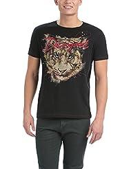 Desigual Tony - T-shirt - Imprimé - Manches courtes - Homme