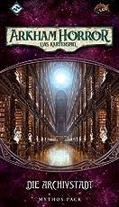 Fantasy Flight Games FFGD1122 Arkham Horror: Die Archivstadt Erweiterung