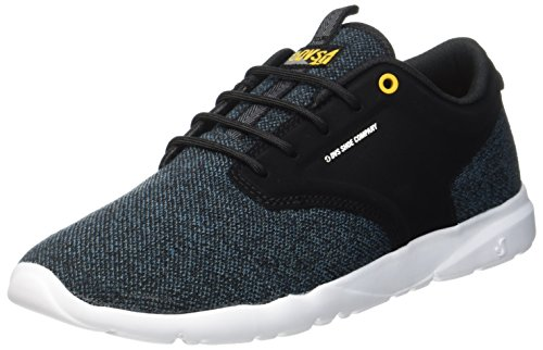 DVS Shoes Premier +, Sneaker Uomo Schwarz (Black Teal Knit)