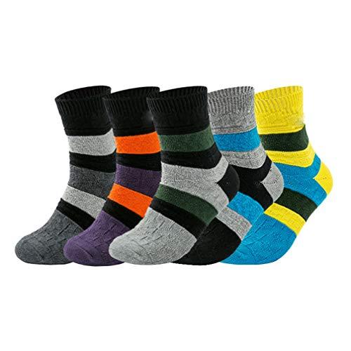 Herren Sportsocken (5 Stück), Herren Deo-Socken, Herren Low Socken, Herrensocken, Baumwolle, Dicke Nadeln, Socken