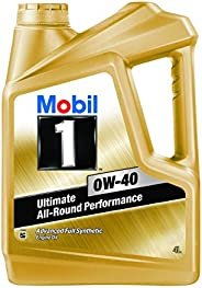 Mobil 1 0W-40 API SN Advanced Full Synthetic Engine Oil (4L)