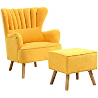 Amazoncouk Yellow Armchairs Chairs Home Kitchen