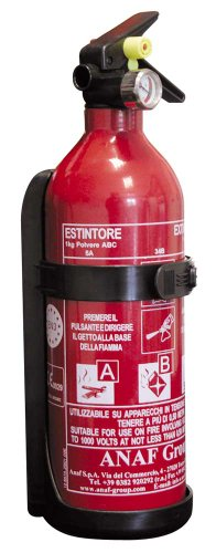 Osculati 31.448.01 - Estintore UK/Francia 1 Kg 5A 34B C (Extinguisher 1.5kg A UK/France)