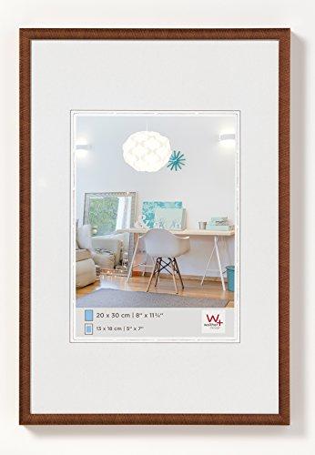 walther design KV040J New Lifestyle Kunststoffrahmen, 30 x 40 cm, bronze