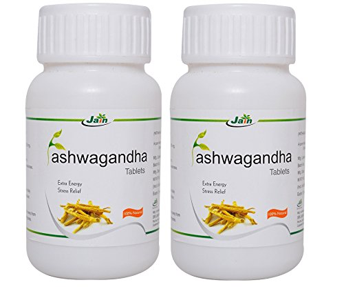 Jain Ashwagandha 60 Tablets (Pack of 2)