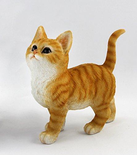 Katze Katzen Katzenfigur Garten Deko Tier Figur Skulptur Statue abstrakt
