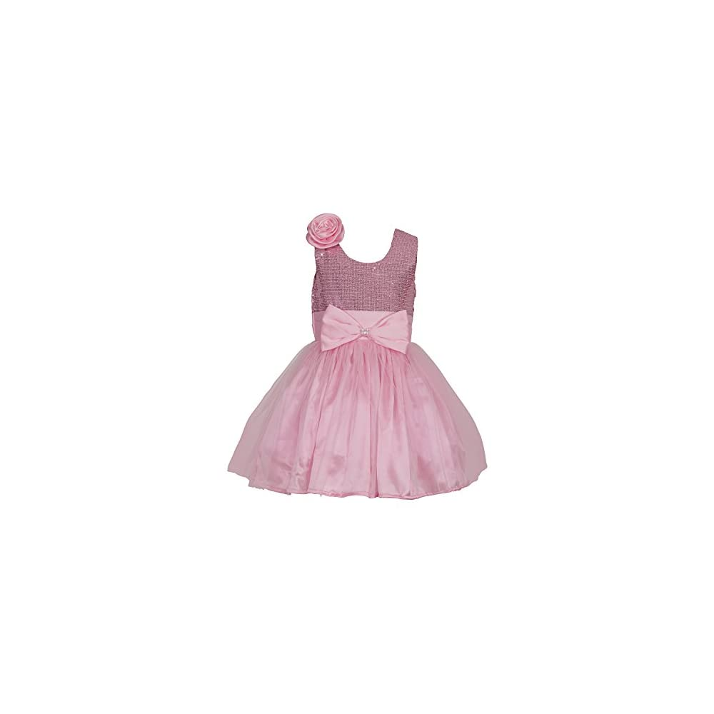319d0028af6c SOFYANA Baby - Girl s Princess Satin Sequinned Birthday Party Wear ...