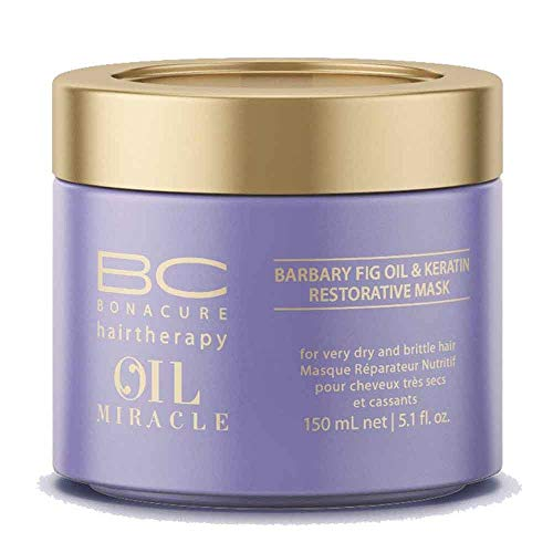 Schwarzkopf Bonacure Oil Miracle Barbary fig oil and Keratin Mask, 1er Pack, (1x 0,15 L)