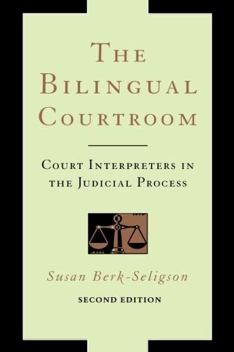 Bilingual Courtroom por Susan Berk-Seligson