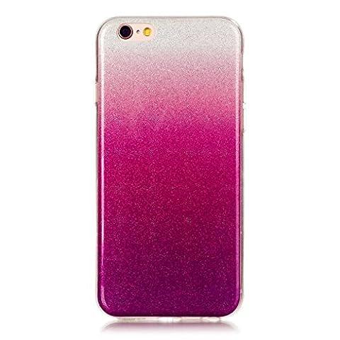 KSHOP TPU Étui Coque - Transparente Silicone Housse pour iPhone