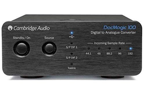 Cambridge Audio DacMagic 100- Digital-Analog-Wandler mit USB-Audio, unterstützt bis zu 24bit/192kHz