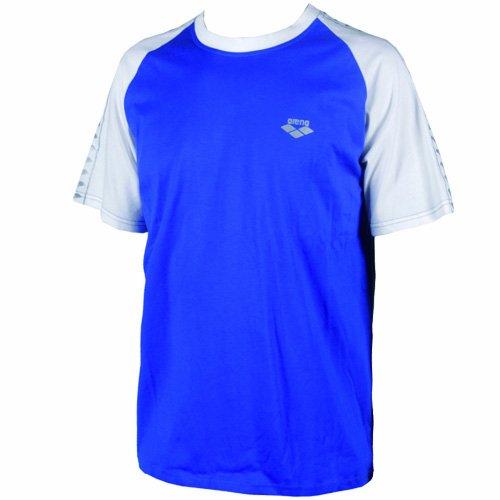Arena Caicco T-shirt Bleu - Bleu roi/blanc