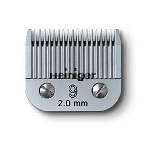 Scherkopf Saphir Nr. 9 für Heiniger Schermaschine, hautnahe Schur 2,0mm Schnitthöhe