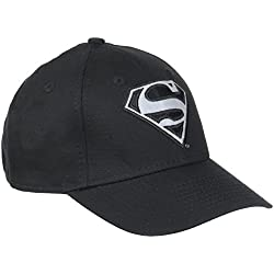 New Era JR Reflect 940Superman Black–Gorra 9FORTY niño, Niño, JR REFLECT 940 SUPERMAN BLACK, negro, FR : CHILD (Taille Fabricant : CHILD)