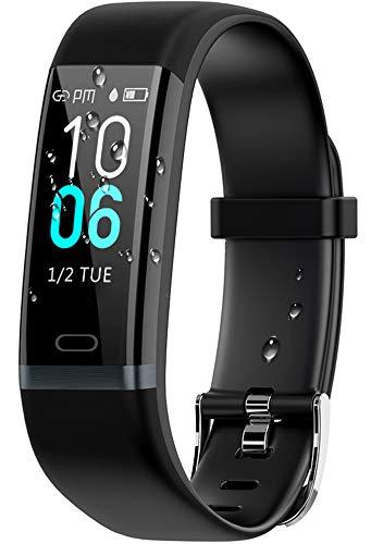 winisok fitness tracker ip68,braccialetti power balance cardiofrequenzimetro da polso orologio con pedometro cronometro activity tracker orologio fitness braccialetto pressione sanguigna