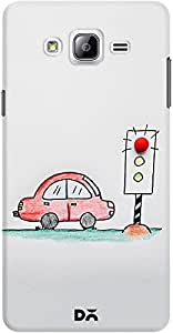 DailyObjects Candy Red Light Case For Samsung Galaxy On5