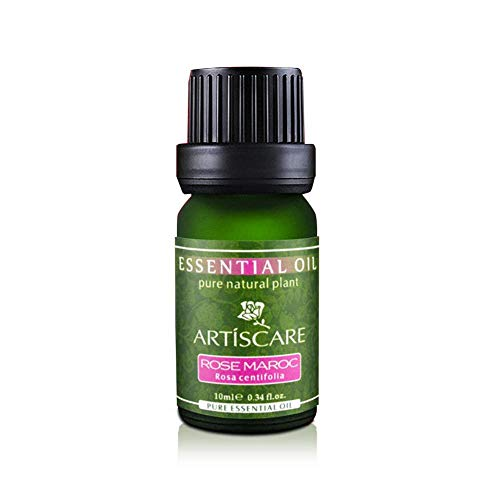 Hair Serum,Huile Essentielle de Rose, hydratant Anti-âge blanchissant Ultra-Premium de qualité thérapeutique 100% Pure pour l'aromathérapie et Le Traitement de la Peau