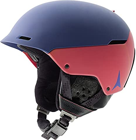 Atomic, AN5005360L, Unisexe Casque de Ski et Snowboard Polyvalent, Ventilation Aircon, Life Fit 3D, Taille L, Circonférence 59-62 cm, AUTOMATIC LF 3D, Gris/Orange