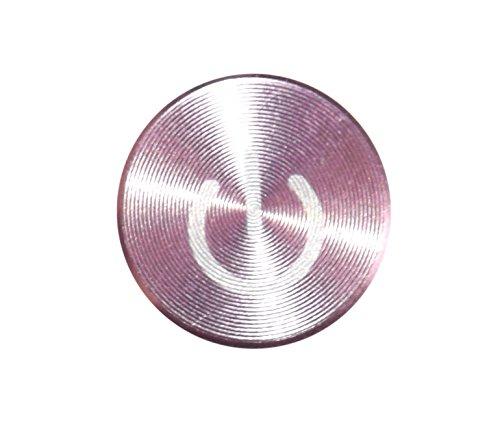 iPhone-Zubehör, Home-Tasten-Aufkleber aus farbigem Metall, für iPhone 6,5s, 5c, 5,4,3, iPhone, iPad, iPod (4 Home Sticker Für Ipod)
