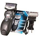 SLB Works Brand New 2In1 Mens Rechargeable Cordless Electric Shaver Razor Trimmer Dual Blade Wet/Dry