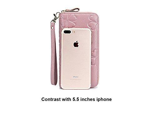 Badiya , Damen Clutch Einheitsgröße, rose (Pink) - WW06691PK saphir