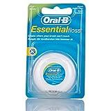 Oral-B Essential - Filo interdentale cerato, 50 m, confezione da 6
