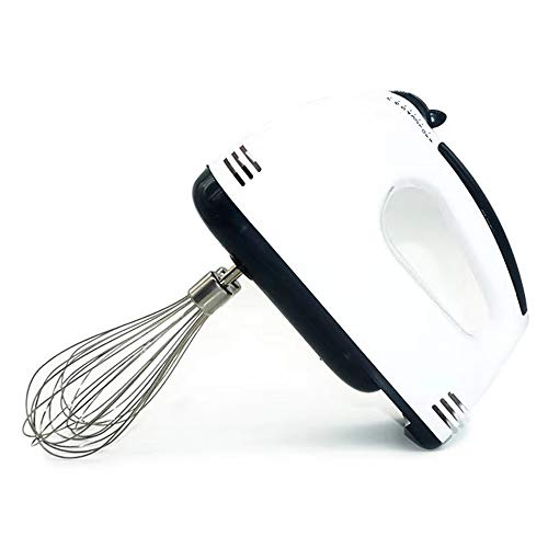 F Electric Hand Mixer Eletric Milk Frother with Double Whisk Hand Mixer with 7 Speeds Quiet Easy to Clean 2 in 1 Milk Frother