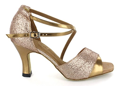 TDA - Ballroom donna 7.5cm Gold