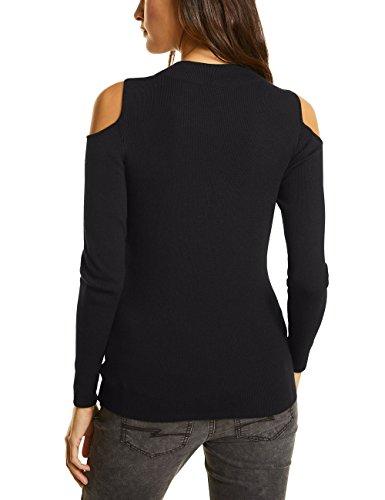 Street One Damen Pullover Schwarz (Black 10001)