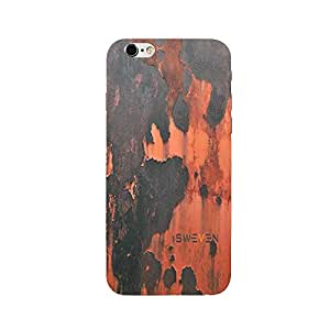 iSweven Peel_Off design printed matte finish multi-colored back case cover for Apple iPhone 6