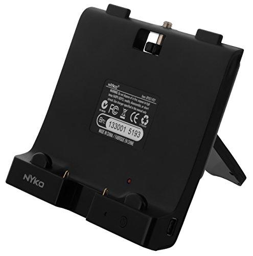 UBoost Zusatz-Akku für WiiU Gamepad mit Standfuss,schwarz [Edizione: