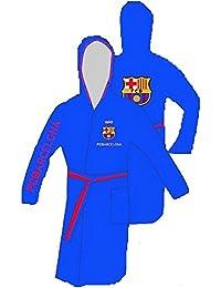 Albornoz F.C. Barcelona Infantil 6-8 Años Microfibra Original Blau bata