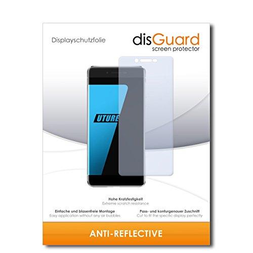 disGuard® Bildschirmschutzfolie [Anti-Reflex] kompatibel mit Ulefone Future [2 Stück] Entspiegelnd, Matt, Antireflektierend, Extrem Kratzfest, Anti-Fingerabdruck - Panzerglas Folie, Schutzfolie