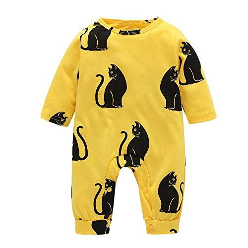 (Fygrend - Autumn Baby Rompers Christmas Baby Boy Clothes Newborn Clothing Cotton Baby Girl Clothes Roupas Infant Jumpsuits Newborn Rompers [ 9M L ])
