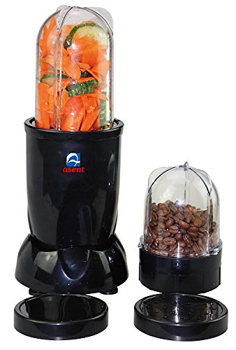 Asent AS-865 Black Multi Blender / Juicer / Coffee bean Grinder / Masala Grinder / Dry and Wet Grinder and Blender 400W  available at amazon for Rs.1865